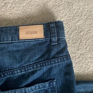 Kate Spade Saturday let loose straight leg jeans